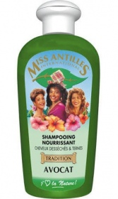 Miss antilles international - Shampooing Avocat 250ml