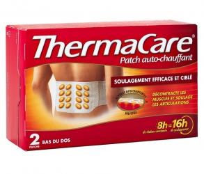 ThermaCare -  Thermacare Patch Auto-Chauffant - Bas du Dos 2 Patchs