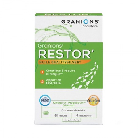 Illustration  Restor - 60 Capsules