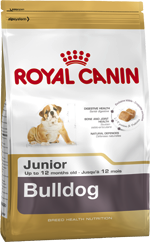 Illustration CROQUETTES ROYAL CANIN BULLDOG ANGLAIS JUNIOR 3 KG