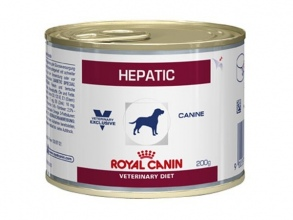 Illustration ALIMENT HUMIDE ROYAL CANIN VDIET CHIEN HEPATIC BOITE 12 X 200 G