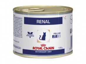 Illustration ALIMENT HUMIDE ROYAL CANIN VDIET CHAT RENAL BOITES 12 X 195 G