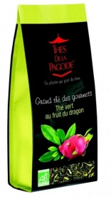 Illustration THÉ VERT AU FRUIT DU DRAGON - SACHET 110 g -
