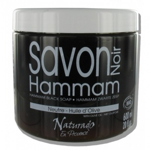 Illustration Naturado - savon noir hamman 600 ml