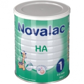 Illustration Novalac HA 1er âge 800g