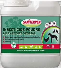 Saniterpen - SANITERPEN POUDRE 250 GR - PYRETHRE VEGETAL