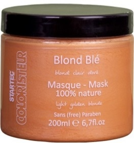 Illustration Masque blond ble (blond clair doré) - 200 ml