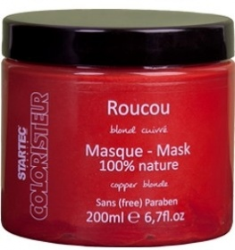 Illustration Masque Roucou (blond cuivré) - 200 ml