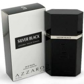 Azzaro - SILVER BLACK - EAU DE TOILETTE - 100 mL