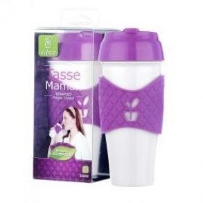 Vieco  - Tasse maman biobased purple crystal - 330ml