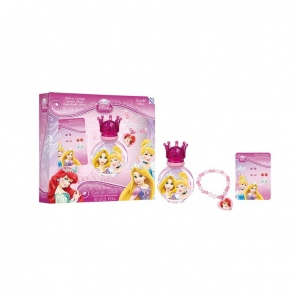 Disney  - SET EAU DE TOILETTE + BIJOUX PRINCESS