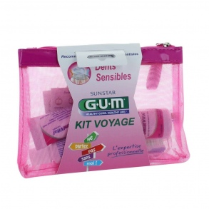 Illustration Gum kit voyage dents sensibles 42 ml