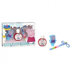 Peppa Pig - Set Eau de Toilette + Gel Douche + Stylo Peppa Pig
