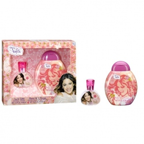 Illustration Set Eau de Toilette 30 ml + Gel douche 300 ml Violetta