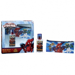 Illustration Set Eau de Toilette 30 ml + Trousse a crayons Spiderman