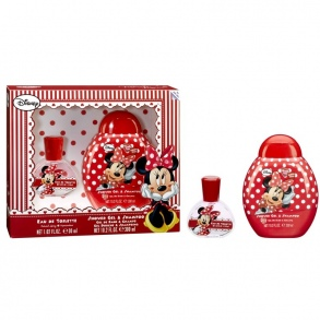 Illustration Set Eau de Toilette et Gel Douche Minnie