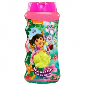 Nickelodeon - Set Gel douche 450 ml + Fleur de douche Dora