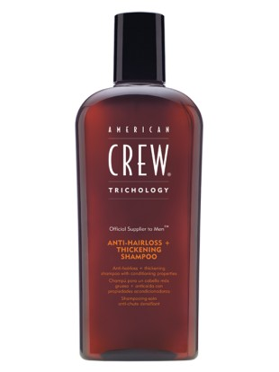 Illustration Shampoing Thickening Shampoo Classic American Crew 250ml