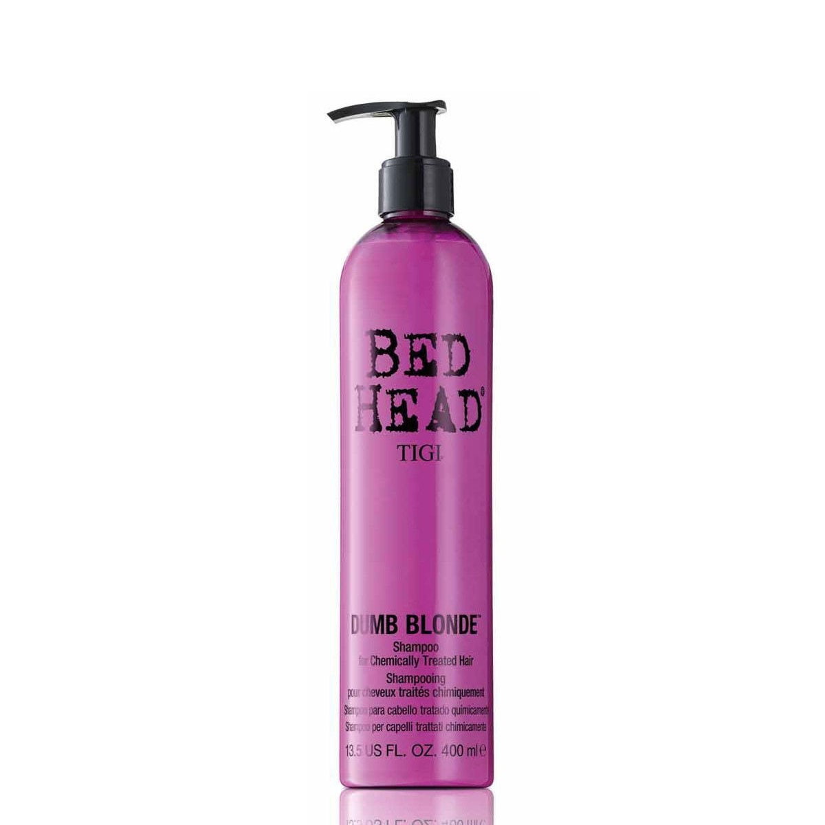 Illustration Shampoing Dumb Blonde Shampoo Bed Head TIGI  400ml