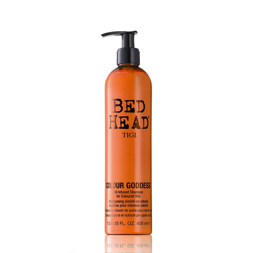 Illustration Shampoing Colour Goddess Shampoo Bed Head Colour Combat TIGI 400ml