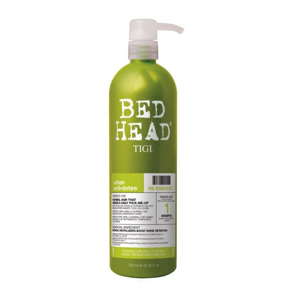 Illustration Soin Conditioner Urban Antidotes Re-Energize TIGI 750ml