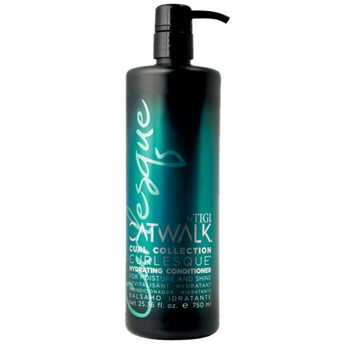 Illustration Soin de prélavage Hydrating conditioner Catwalk Curl Collection Tigi 750ml