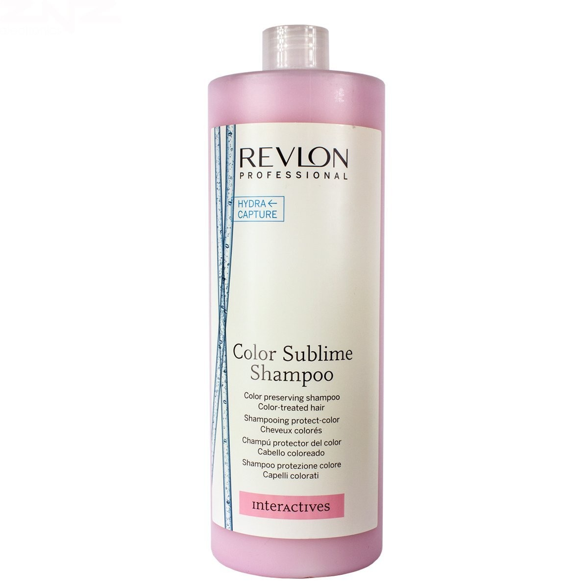 Illustration Shampooing Color Sublime Revlon Interactives 1250ml
