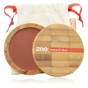 Zao - BLUSH BRUN ORANGE N°321