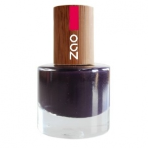 Zao - VERNIS A ONGLES NATUREL PRUNE N°651