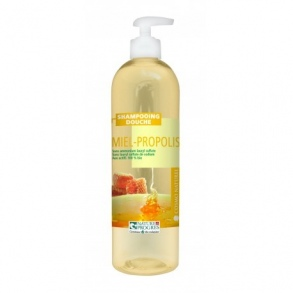 Illustration SHAMPOOING DOUCHE MIEL PROPOLIS