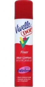 Illustration Spray Coiffant Micro Aéré Fixation Extrême - Vivelle Dop de Dop
