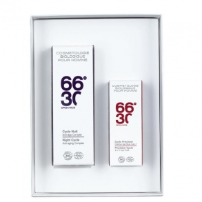 66°30 - COFFRET ANTI AGE : CYCLE NUIT + CYCLE PRECISION
