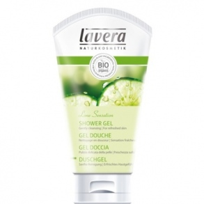 Illustration Lavera Body Spa, Gel douche verveine citron vert