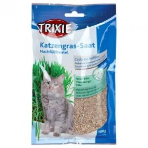 Illustration Lot d'herbe à chat 3 x 100 g