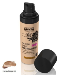Lavera -  Fond de teint liquide N°04 honey beige  30 ml