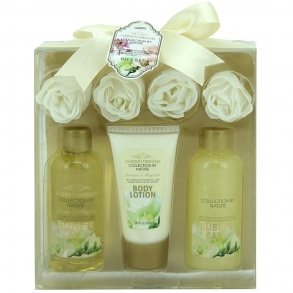Illustration Coffret de Bain - Garden Dreams - Jasmin & Magnolia - 7 Pcs