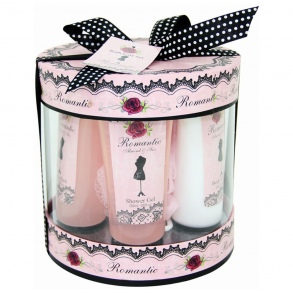 Illustration Coffret de Bain - Romantic Rose - 5 Pcs