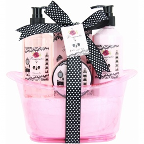 Illustration Baignoire de Bain - Romantic Rose - 4 Pcs