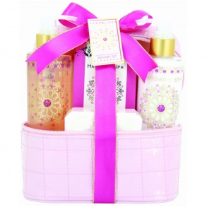 Illustration Vanity de Bain - Mandara Spa - Pivoine - 4 Pcs