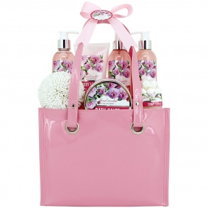 Illustration Sac de Bain - Floral Scented - Pivoine - 7 Pcs