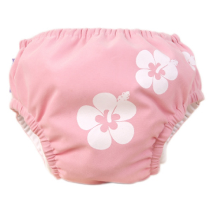 Piwapee - MAILLOT COUCHE BEBE  VAHINE ROSE 14-17 KG