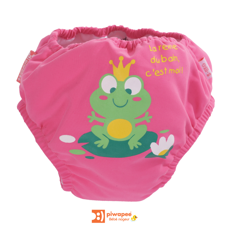 Illustration MAILLOT COUCHE BEBE  RAINETTE ROSE FRAMB. 11-14KG