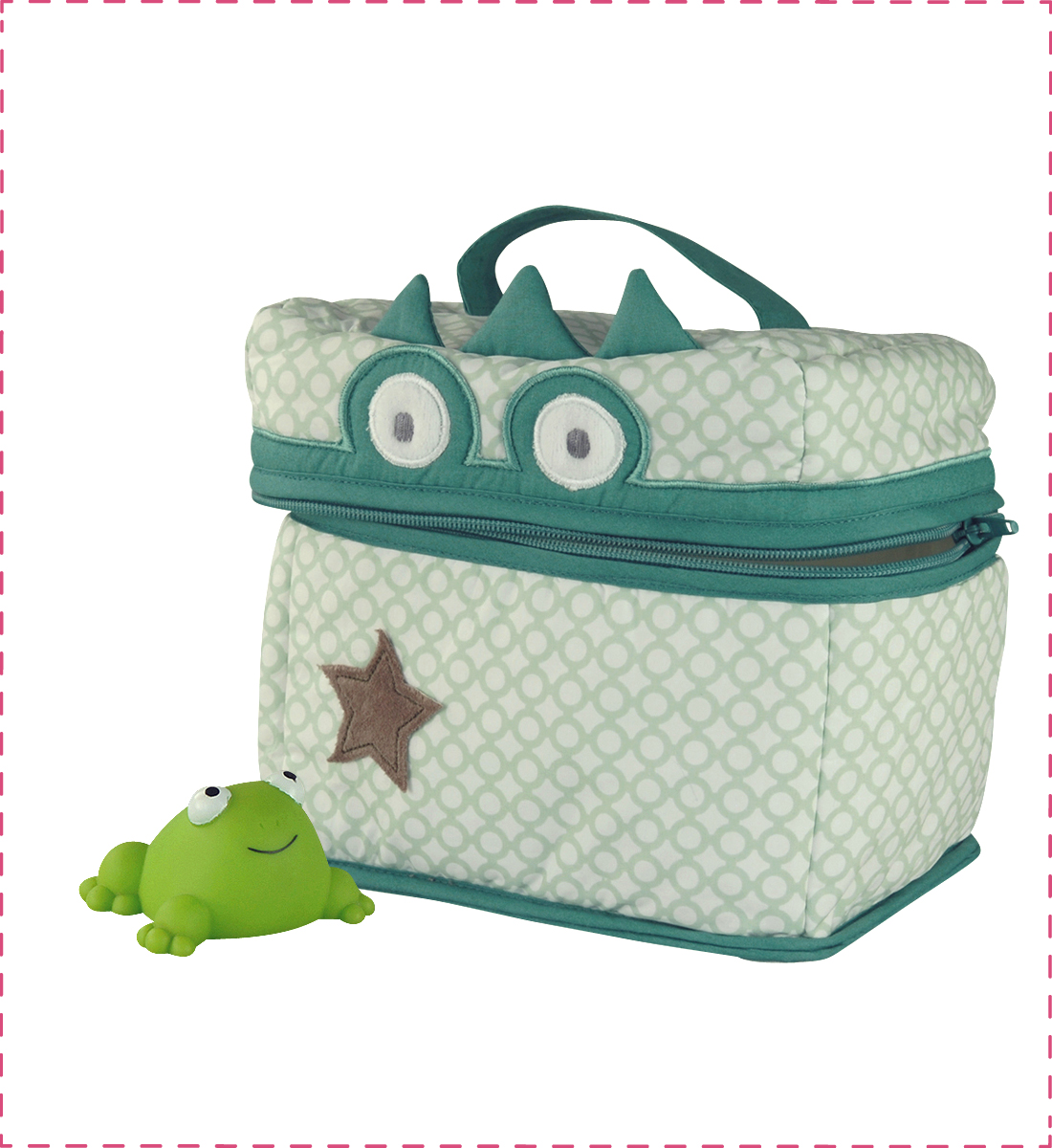 Illustration Trousse de toilette Crocodile