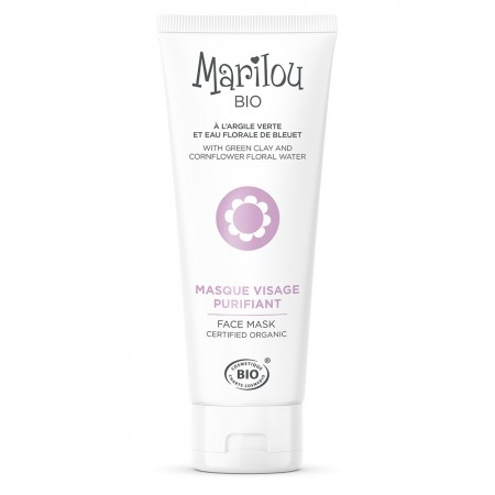 Illustration Masque Visage Purifiant Marilou Bio
