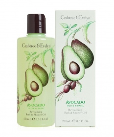 Crabtree & Evelyn - Avocado Gel Douche & Bain 250ml