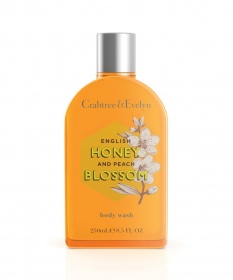 Illustration English Honey & Peach Blossom Gel Douche & Bain 250ml
