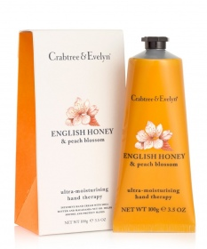 Illustration English Honey & Peach Blossom Crème pour les Mains 100g