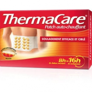 ThermaCare - Thermacare patch chauffant anti douleur dos et Hanches X2 patchs