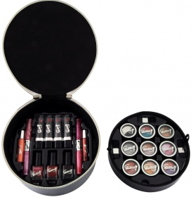 Illustration Mallette de Maquillage - Luxurious Collection Black - 34 Pcs