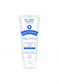 Babyderme - Gel Lavant ultra doux Baby & Family 200ml